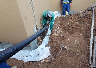 Retirement 04 Laying Of HDPE Pipe
