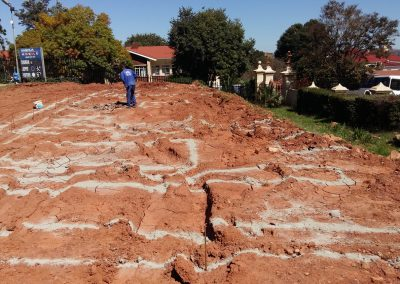 Jeppe 21 Setting Out Of Foundations